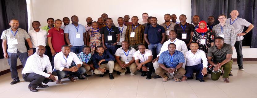 Dec 2018: SAUT and TERNET CNDO Workshop, Mwanza, Tanzania